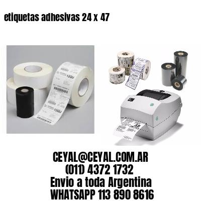 etiquetas adhesivas 24 x 47