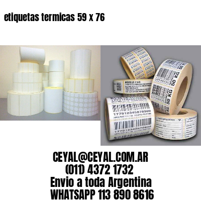 etiquetas termicas 59 x 76
