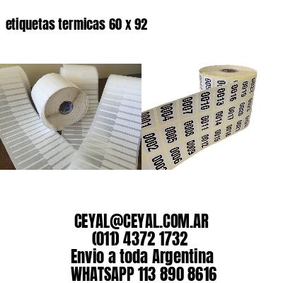 etiquetas termicas 60 x 92