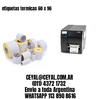 etiquetas termicas 60 x 96