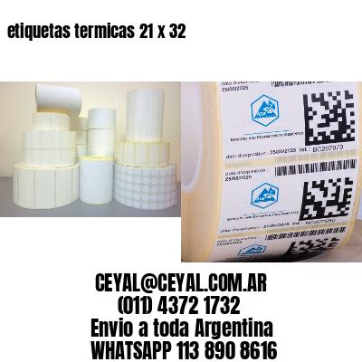 etiquetas termicas 21 x 32